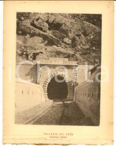 1888 Ferrovia ROMA-SULMONA - Galleria del Duca - Imbocco ROMA *Stampa 16x20