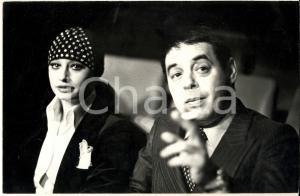 1970 ca SALSOMAGGIORE Raffaella CARRA' e fidanzato Gianni BONCOMPAGNI *Foto