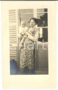 1912 LOMBARDIA Ritratto di Lidia SERVETTI LOMBARDI MAGHI con la figlia Giovanna