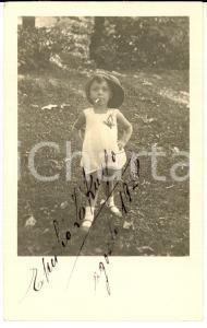 1928 MILANO Emilio LO RUSSO fuma sigaretta per gioco *Foto cartolina VINTAGE