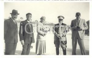 1934 TRIPOLI Ippodromo della Busetta - Gen. Arnaldo DE STROBEL Emma COMPESTRINI