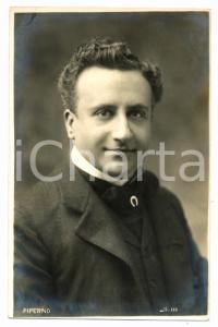 1910 ca TEATRO Ugo PIPERNO Ritratto dell'attore *Cartolina FP NV