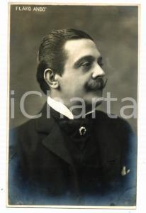1910 ca TEATRO Flavio ANDO' Ritratto dell'attore *Cartolina SCIUTTO FP NV