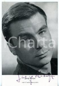 1960 CINEMA Georg KOSTYA in