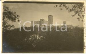 1910 ca CASTELLO DI LETTERE (NA) Veduta panoramica - Foto cartolina VINTAGE