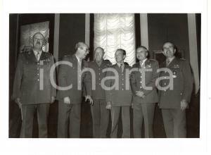 1990 ca ESERCITO ITALIANO Domenico CORCIONE - Giorgio DONATI - Pietro MURARO
