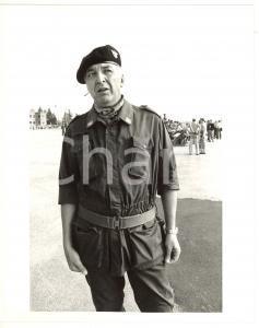 1990 ca ESERCITO ITALIANO Ritratto del generale Raffaele SIMONE *Foto 20x25 cm