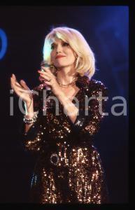 35mm vintage slide* 1988 RAI 2 Amanda LEAR al programma Tv IMPROVVISANDO (6)
