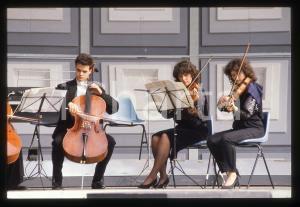 35mm vintage slide* 1990ca MUSICA Orchestra I SOLISTI VENETI in concerto *2