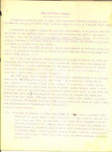 1930 ca Roberto RUSSITANO Cura elettrica naturale *Dattiloscritto INEDITO 21 pp.