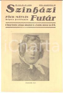 1936 BUDAPEST SZINHAZI FUTAR - Ica von LENKEFFY Gero ISTVAN *Rivista