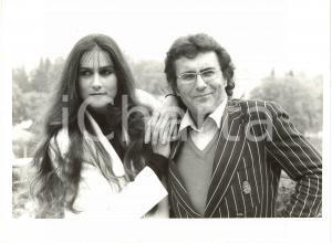 1985 ca ITALIA MUSICA - Ritratto di Al BANO con la moglie Romina POWER (1)