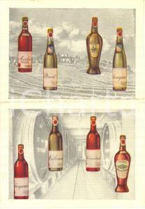 1960 ca Tenuta MONTECORIOLANO Vini pregiati DOUHET - Pieghevole pubblicitario