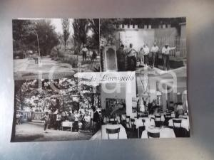 1960 ca CASTELLETTO D'ORBA Fonte LAVAGELLO *Bozzetto per cartolina 30x21 cm