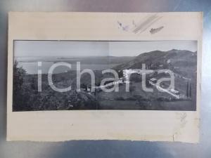 1960 ca GARDONE RIVIERA (BS) Casale con vigneto *Bozzetto per cartolina 33x23 cm