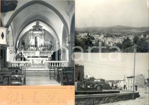 1960 ca OLZAI (NU) Scorcio tipico *Bozzetto preparatorio per cartolina 30x21 cm