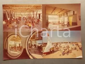 1960 ca CATANIA Hotel in riva al mare - Bozzetto per cartolina 40x30 cm