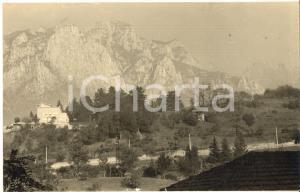 1961 LECCO Veduta con il Palazzotto di Don Rodrigo - Foto cartolina