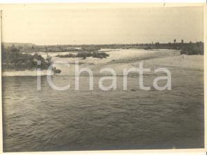 1925 Area di VAPRIO D'ADDA - Confluenza fiumi Brembo e Adda - Foto 12x8 cm