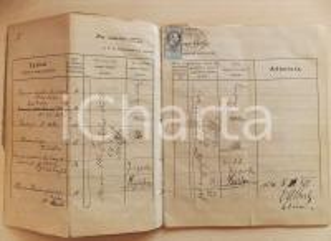 1876-1882 Medizinische Universität INNSBRUCK / WIEN Registro lezioni CASNA - RARO