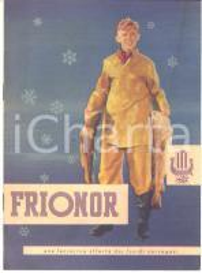 1940 ca FRIONOR - Filetti di pesce norvegesi - Pieghevole ILLUSTRATO