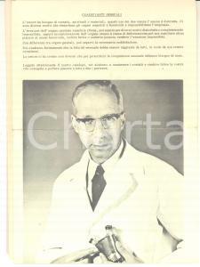 1970 ca Ditta K. ERIKSSON - Creme e coadiuvanti sessuali - Pieghevoli