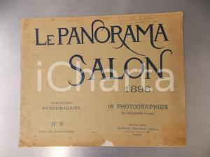 1896 LE PANORAMA SALON - Publication hebdomadaire n° 5 ILLUSTREE