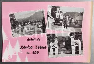 1965 ca LEVICO TERME Grand Hotel Imperial *Bozzetto preparatorio per cartolina