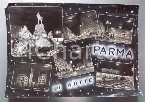 1960ca PARMA Piazza Duomo - Monumento Vittorio Bottego *Bozzetto cartolina 52x36