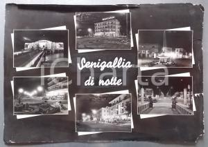 1960 ca SENIGALLIA Rotonda sul mare - Hotel Cristallo *Bozzetto cartolina 54x38