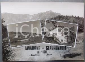 1960 ca LAVARONE Frazione SLAGHENAUFI *Bozzetto preparatorio per cartolina 38x27