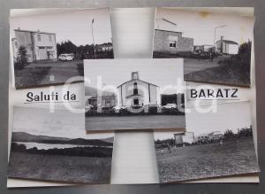1960 ca BARATZ Beata Vergine Assunta - Lago di Baratz *Bozzetto cartolina 36x26