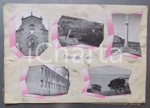 1965 ca TULA (SS) Chiesa Sant'Elena Imperatrice *Bozzetto per cartolina 46x32