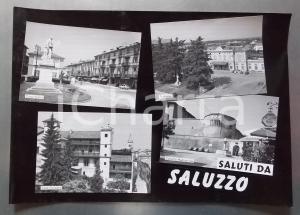 1960 ca SALUZZO La Castiglia - Museo Casa Cavazza *Bozzetto per cartolina 37x26