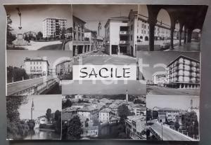 1960 ca SACILE - Vedutine della città *Bozzetto preparatorio per cartolina 45x31