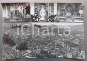 1965 ca BITTI (NU) Madonna del Miracolo - Vedutine *Bozzetto per cartolina 43x30