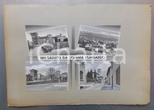 1959 SOMMA LOMBARDO Castello Visconti di San Vito *Bozzetto per cartolina 50x35