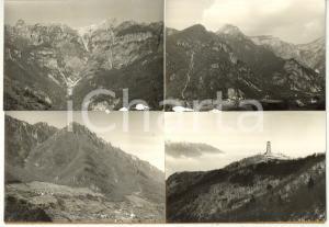 1965 ca VALLARSA Ossario del Pasubio - Vedutine *Bozzetto per cartolina 30x21 cm