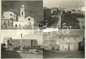 1965 ca MONSERRATO (CA) Vedutine - Chiesa di Sant'Ambrogio *Bozzetto cartolina