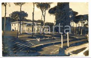 1920 ROMA VILLA BORGHESE Piazza di Siena - Veduta di Villa Umberto I *Cartolina