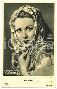 1951 VOGHERA - CINEMA Paola BARBARA Attrice *Cartolina con AUTOGRAFO FP NV