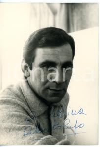 1965 ca CINEMA Attore Alberto LUPO (Alberto ZOBOLI) *Foto seriale con AUTOGRAFO