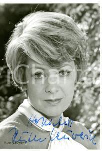 1980 ca CINEMA Attrice Ruth LEUWERIK *Foto seriale con AUTOGRAFO 10x15 cm