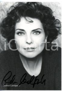 1980 ca CINEMA Attrice Gudrun LANDGREBE - Foto seriale con AUTOGRAFO 10x15 cm