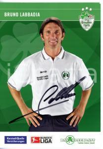 2007 CALCIO Bruno LABBADIA allenatore