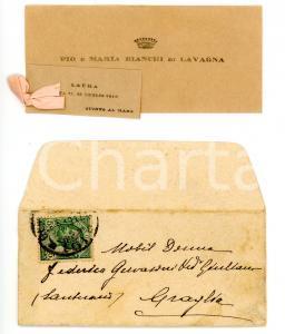 1912 GENOVA QUINTO AL MARE Pio e Maria BIANCHI LAVAGNA per nascita figlia Laura