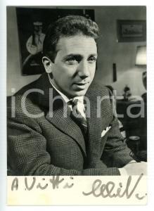 1958 COSTUME Mike BONGIORNO sponsor L'OREAL *Fotocartolina con AUTOGRAFO 10x15