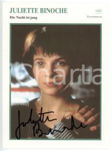 1993 CINEMA Juliette BINOCHE in