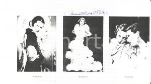 1970 ca Attrice ANNABELLA - Autografo su ritratti a stampa