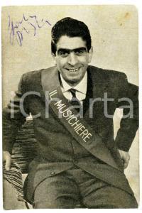 1959 IL MUSICHIERE Campione Spartaco D'ITRI *Foto seriale con AUTOGRAFO 9x13 cm